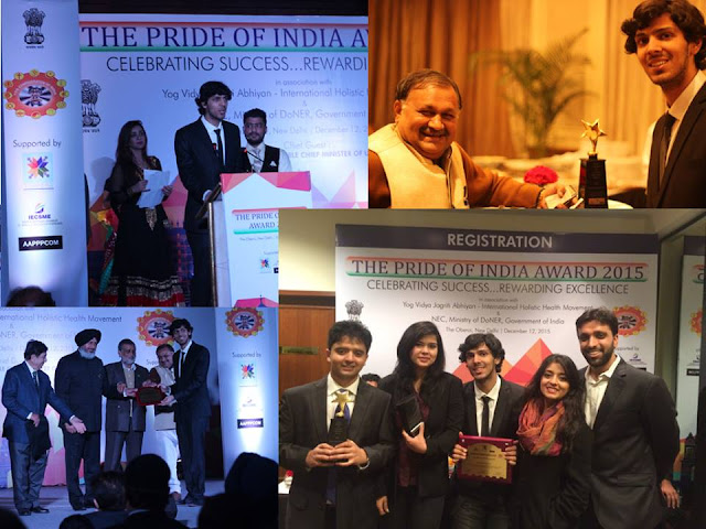 The Pride Of India Award 2015