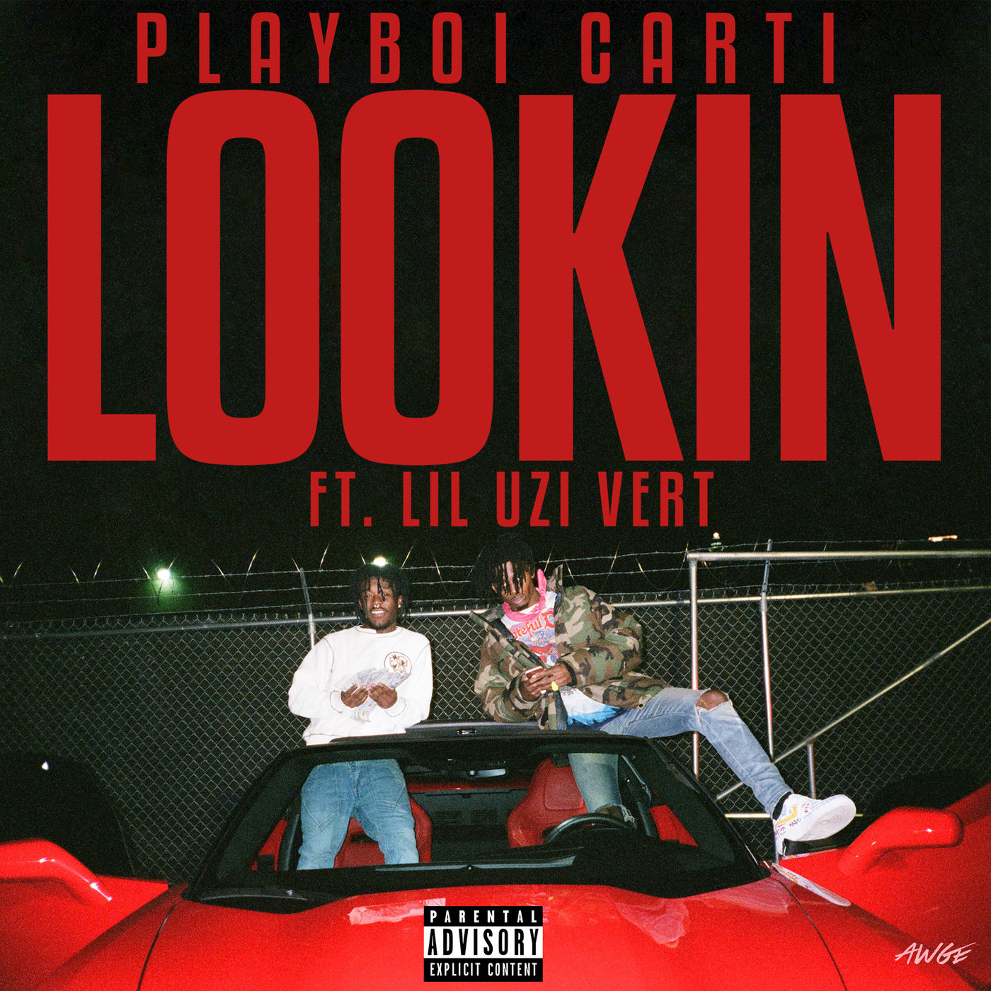 Playboi Carti - Lookin (feat. Lil Uzi Vert) - Single Cover