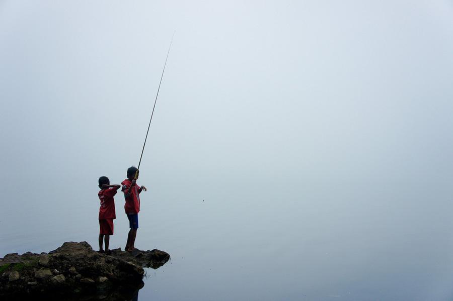 Danau Segara Anak 2000 meter Gunung Rinjani
