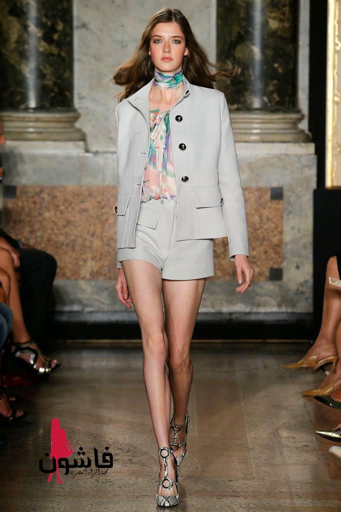 4699372ad2778 إطلالات إميليو بوتشي من أسبوع الموضة لأزياء صيف وربيع 2015 - فاشون ...