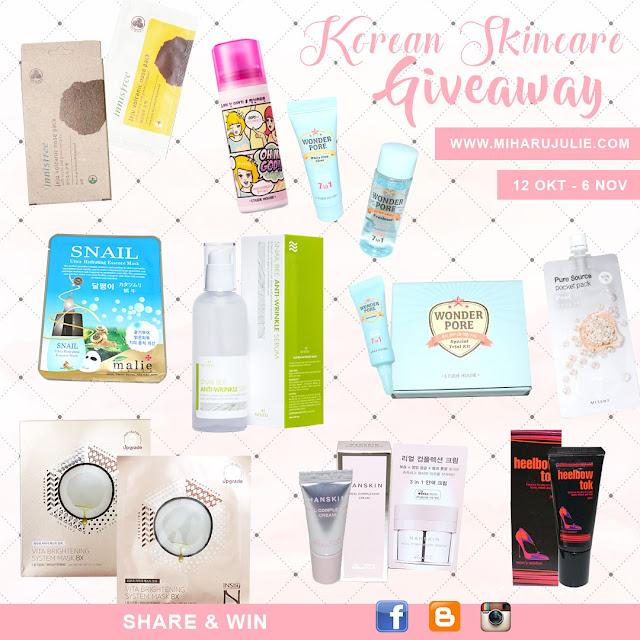 Korean Skincare Giveaway