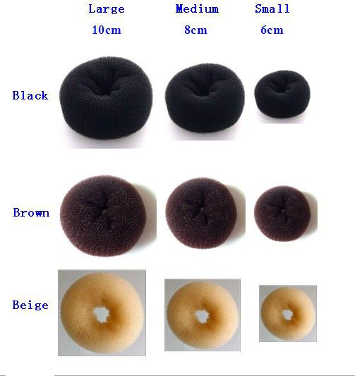 how to use a hair bun donut - photo #31