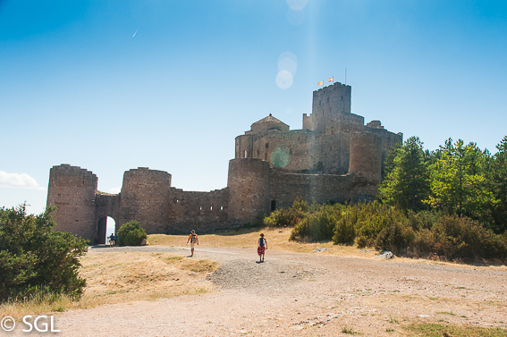 Castillo Loarre. Visitando Huesca