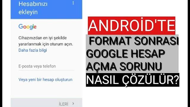 Android senkronizasyon