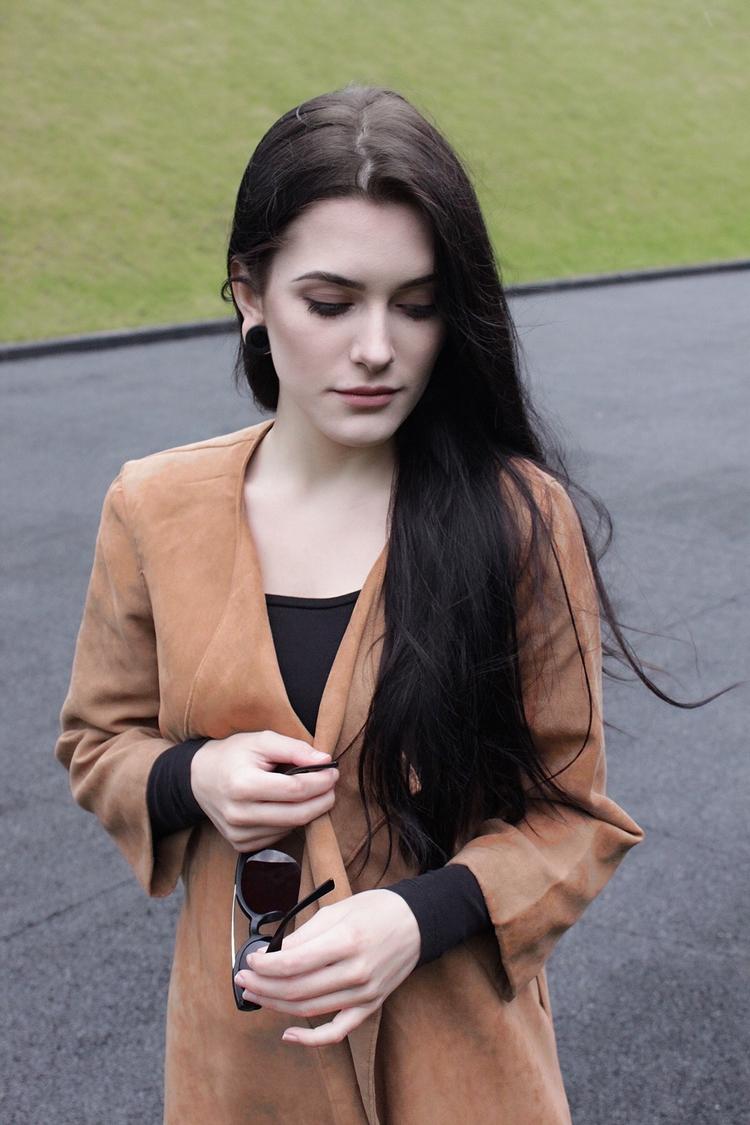 moda l look l outfit l stylizacja l długie włosy