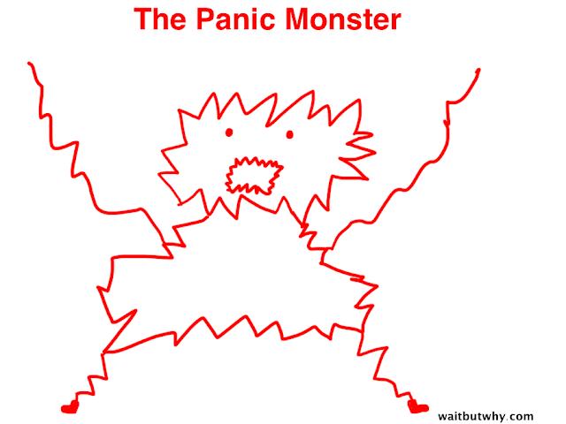 Hehe inilah aku si Panic Monster