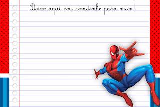 Imprimibles de Spiderman para Imprimir Gratis.