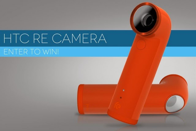 WIN AN HTC RE, AN ACTION CAM FOR EVERY DAY, NOT THE X GAMES Giveaway