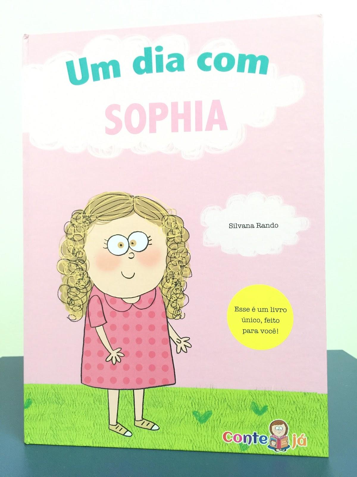 livro personalizado Conte Já