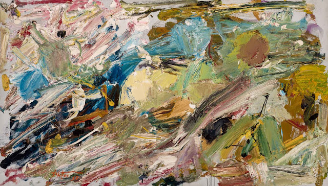 Manoucher Yektai - Abstract Expressionism