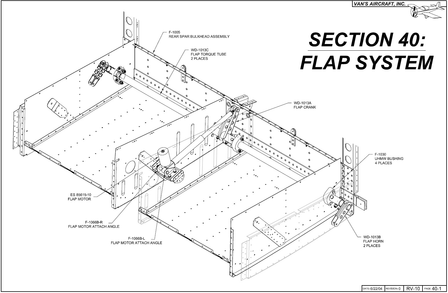 Operation Rv 10 Flap System