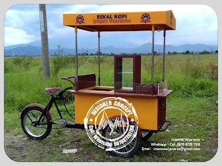 produksi gerobak sepeda kopi bandung