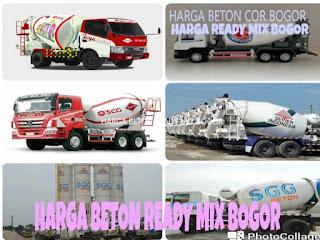 HARGA BETON COR BOGOR, HARGA READY MIX BOGOR, HARGA BETON READY MIX BOGOR