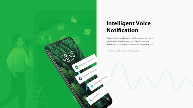 XOS 5 Cheetah Intelligent Voice Notifications