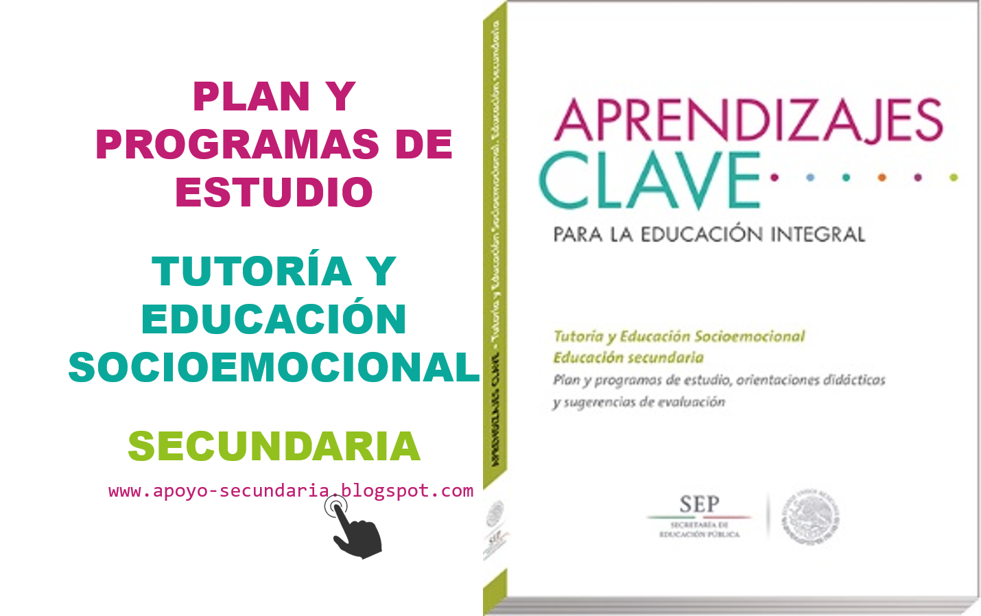 Plan y Programa de Estudio de Tutoría y Educación Socioemocional