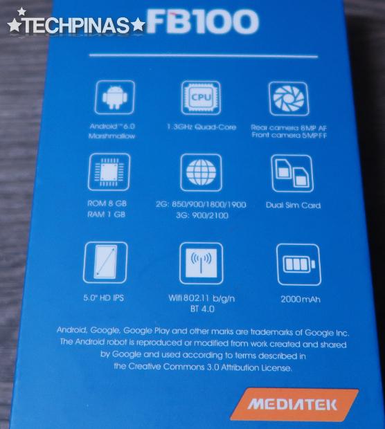Cherry Mobile FB100 Unboxing, Price, Specs, Antutu Score