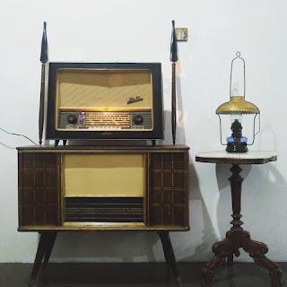LAPAK BARANG ANTIK : Jual Radio tabung AIDA ON ORI MW SW