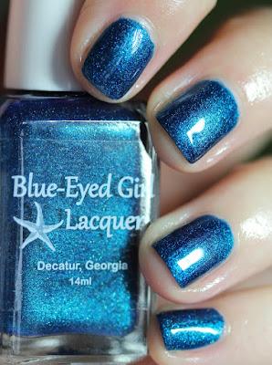 Blue-Eyed Girl Lacquer The Siren's a Callin'