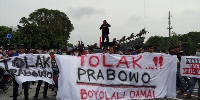 Sudah Menghina, Kubu Prabowo Malah Tuding Demo Kemarahan Warga Boyolali Libatkan ASN