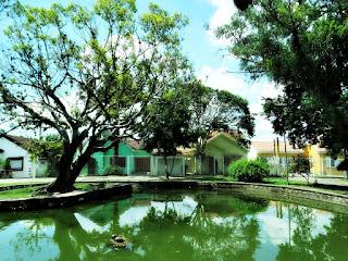 Lago da Praça Chopin - Vila IAPI, Porto Alegre