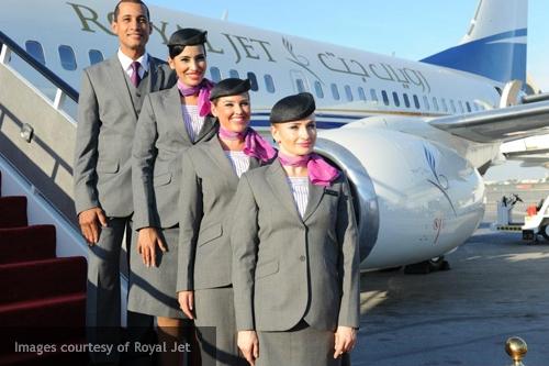 fly gosh: royal jet vip cabin crew recruitment - (female applicants