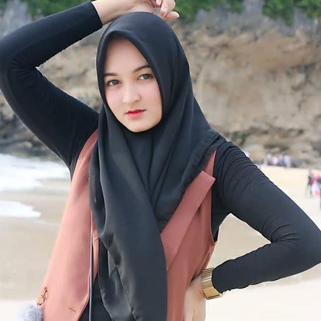 Wallpaper Gadis Hijab Cantik Muslimah Cute - Awek Hijab Comel