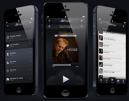 IPhone music Player