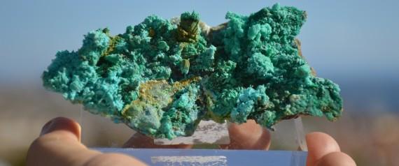 Katerinopoulosite: Ένα ακόμη μοναδικό παγκοσμίως ορυκτό από το Λαύριο!