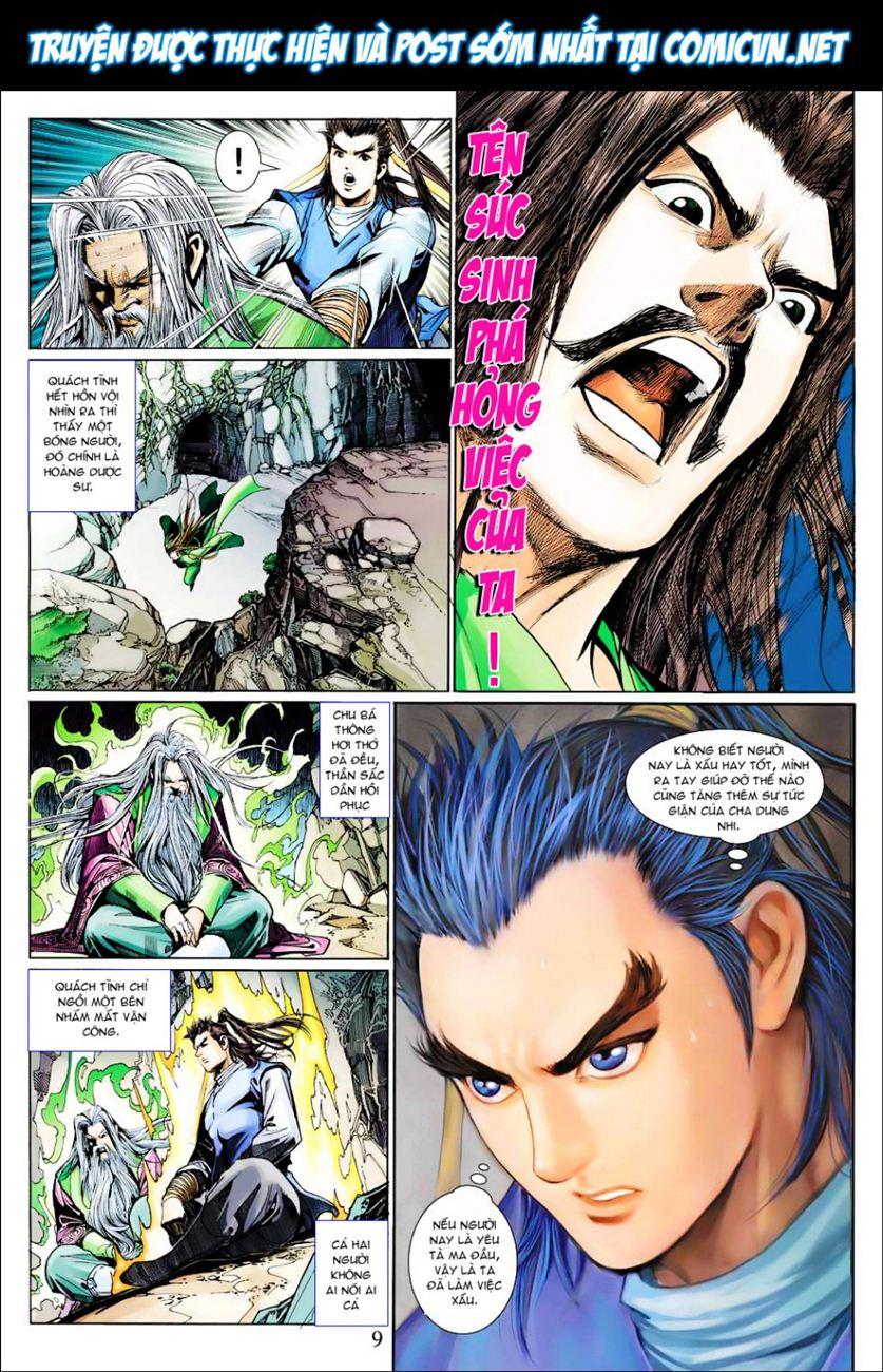 Anh Hùng Xạ Điêu anh hùng xạ đêu chap 40 trang 9