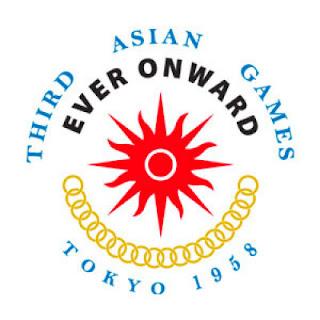 Logo Asian Games Ke 3 Tahun 1958 di Yokyo, Jepang