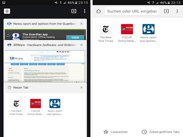 متصفح الانترنت سروار براوزر أخر اصدار للموبايل