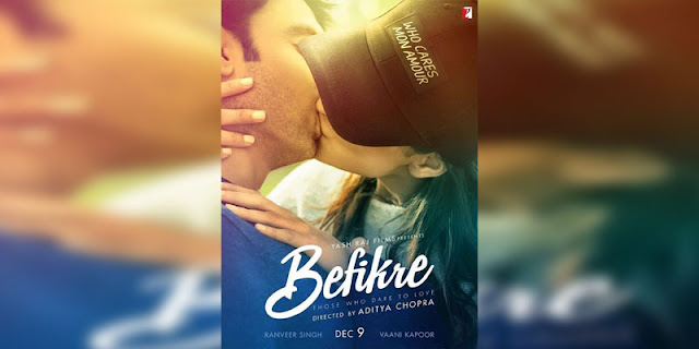 Sinopsis Film Befikre (2016), poster, nonton trailer, detail film, pemain film