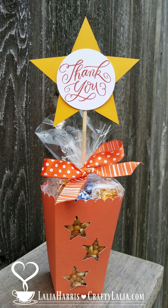 I Used Our Now Retired Sunset Orange Which Was Perfect For A Fall Themed  Gift. Other Times Of The Year, I Think Cranberry Would Be Just The Ticket  Because ...