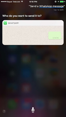 With this feature, users will be able to send a message, read a message using Siri on Viber and Whatsapp in iOS 10-10.3.2. Isn't it a cool feature?