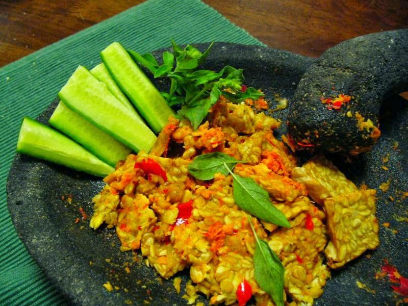 Resep Kering Tempe Kecap ( Dried Soy Sauce Tempe Recipes )