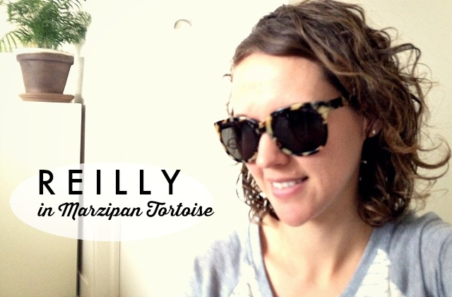 Warby Parker Prescription Sunglasses // reilly in marzipan tortoise