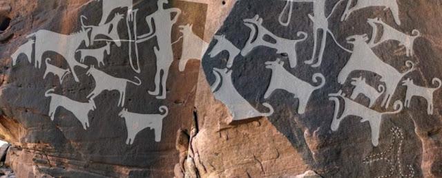 Gravuras mostram que cães já eram domesticados há 8 mil anos