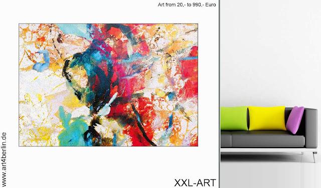 junge Kunst, XXL Bilder aus Berlin