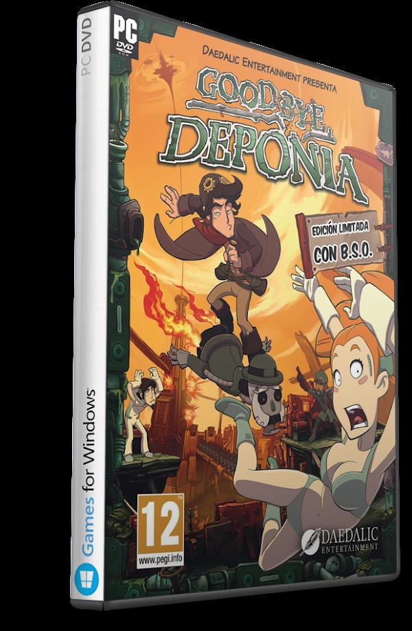 DESCARGAR Goodbye Deponia Multilenguaje (Español) (PC-GAME) MEGA