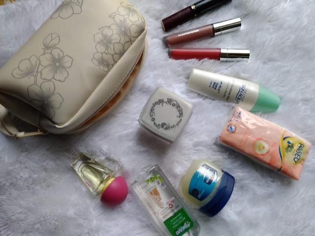 my make up pouch