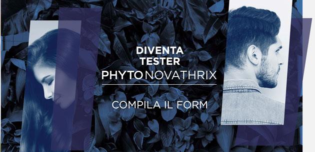 clicca qui per candidarti come tester del trattamento anti-caduta dei capelli phyto novathrix