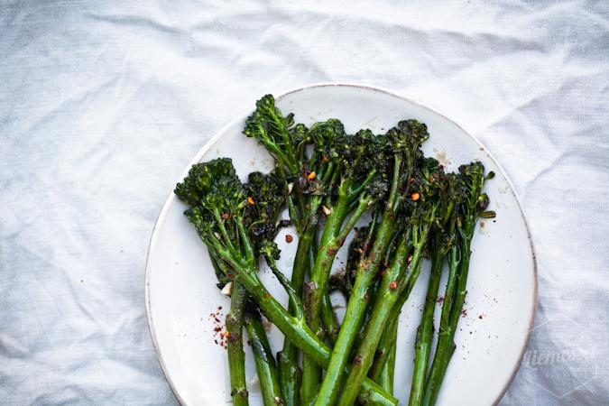 broccoliini broccoliinit resepti