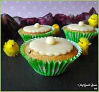 Whether you call them simnel cupcakes, simnel mini cakes, or simnel cakelets these little bakes are a delicious treat.