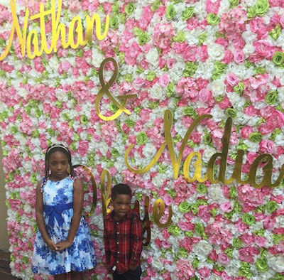 Paul Okoye and wife, Anita dedicate their twins