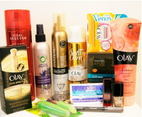 29Secrets P&G Beauty Prize Pack Giveaway