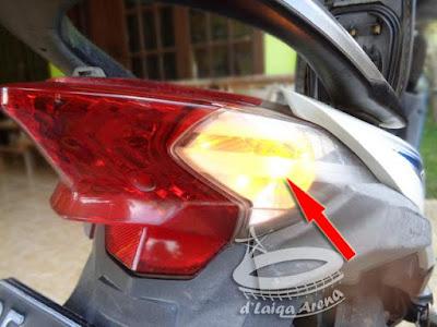 Lampu Sein Belakang Honda Beat FI (K25)