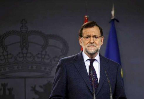 Rajoy anuncia el cese del Gobierno de Cataluña y prevé elecciones en seis meses