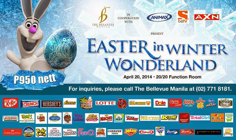 Easter in Winter Wonderland Event at The Bellevue Manila