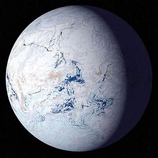 Terra a palla di neve