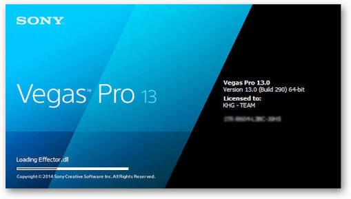 Sony Vegas pro 13 serial key 2018 free download.